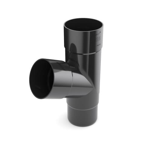 Тройник трубы Бриза Bryza цвет черный (RAL 9005)