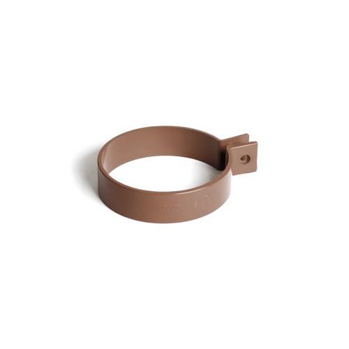 Хомут трубы Бриза Bryza цвет коричневый RAL 8017