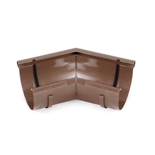 Угол внутренний произвольный угол цвет коричневый RAL 8017