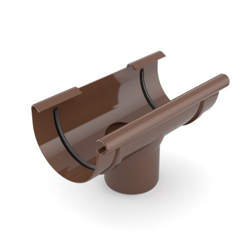 Воронка желоба Бриза Bryza коричневый RAL 8017