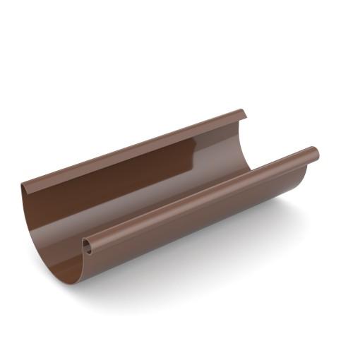 Желоб водосточный Бриза Bryza цвет коричневый RAL 8017