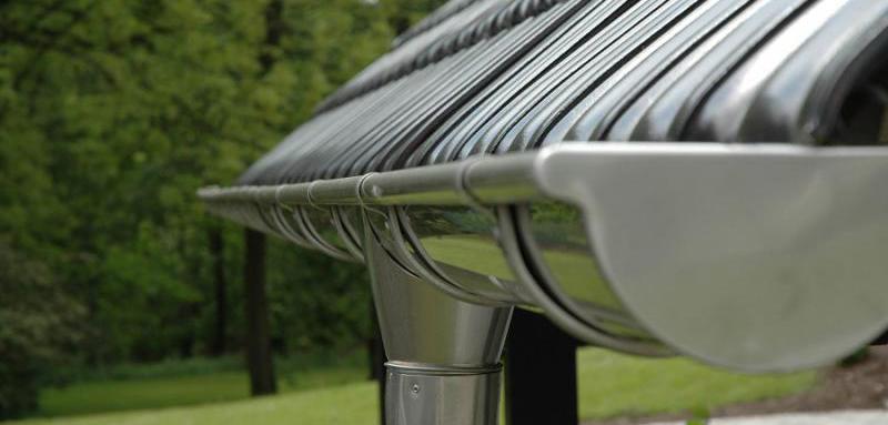 металлическая водосточная система