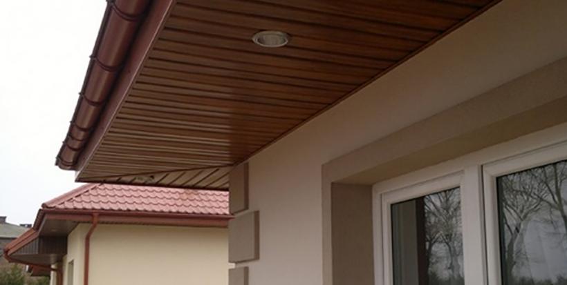 Софіти для даху