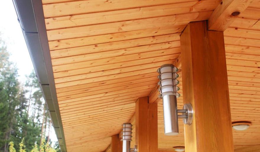 дерев'яний софіт